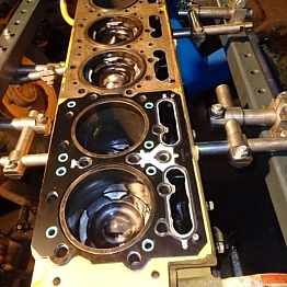 Капитальный ремонт двигателя CUMMINS NTA855