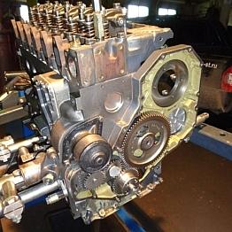 Капитальный ремонт двигателя KOMATSU SAA6D102E