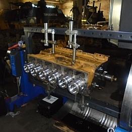 Капитальный ремонт двигателя SHANGHAI C6121
