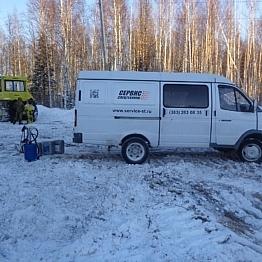 Гарантийное обслуживание бульдозера ДСТ Урал в Тайге