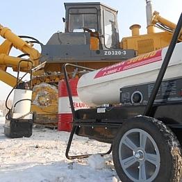 Применение тепловой пушки в зимних условиях