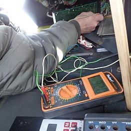 Диагностика электроники Pisten Bullly 240